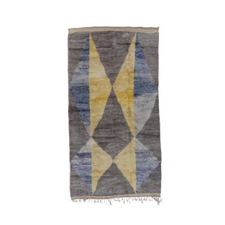 Modern & Contemporary Moroccan Rug-5′4″ × 9′10″ For Sale