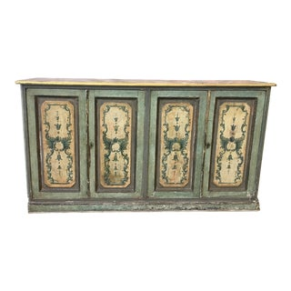 19th Century Italian Painted Console Buffet