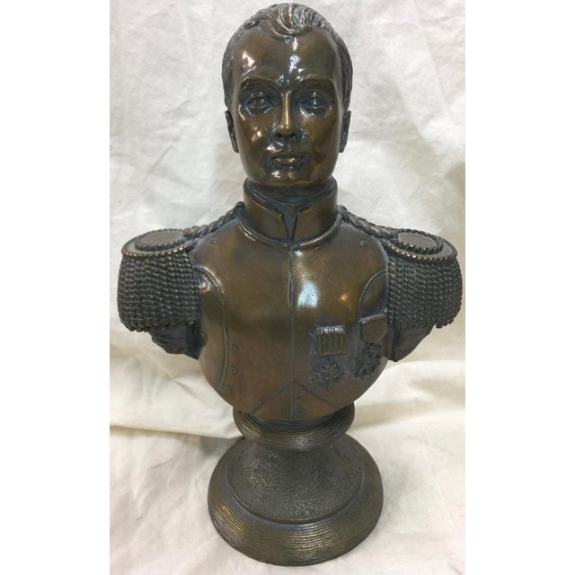 Maitland Smith Bronze Bust of Napoleon For Sale In San Francisco - Image 6 of 6