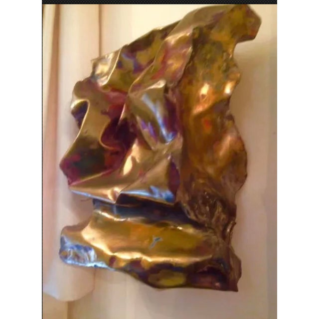 Silas Seandel Sculpture Convoluted Wall Piece For Sale - Image 9 of 12