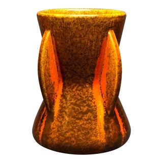 Pfaltzgraff Art Deco Spanish Tile Glaze Vase For Sale