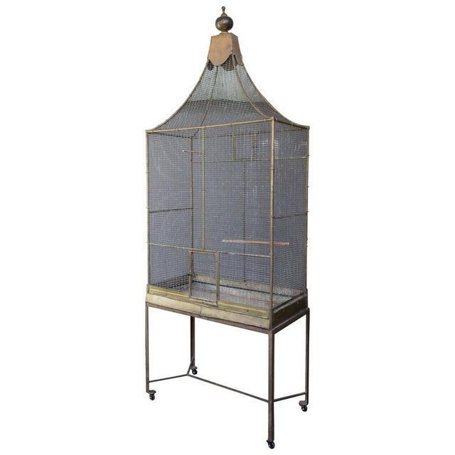 Large French Bird Cage - Image 10 of 10