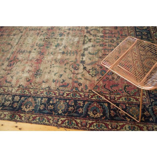 Antique Yazd Carpet - 8' x 10' - Image 2 of 10