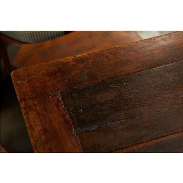 French Country Dining Table With Pull Out Leaves For Sale - Image 10 of 12