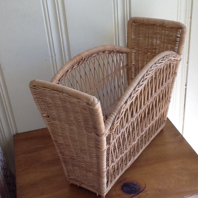 Natural Wicker File Basket - Image 5 of 8