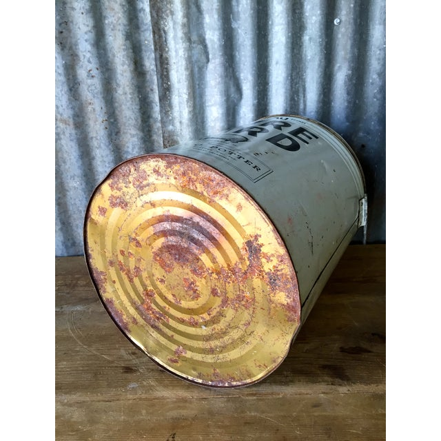 Vintage Lard Container From Oklahoma For Sale - Image 10 of 11
