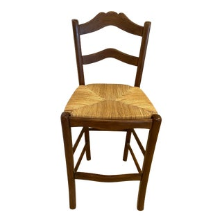Country Kitchen Ladder Back Barstool For Sale