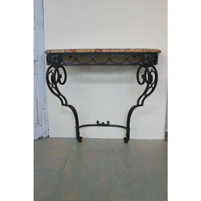 French Iron Console - Image 3 of 11