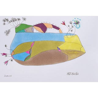 Untitled Drawing by Stephen Neil Gill For Sale