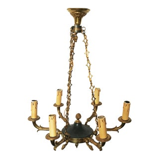 Vintage First French EmpireStyle Chandelier