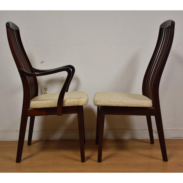Danish Modern Dining Chairs - Set of 8 - Image 5 of 9