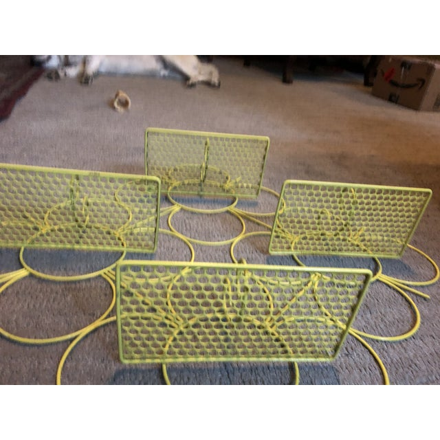 Mid 20th Century Mid Century Modern Mesh Wall Shelf For Sale - Image 5 of 6