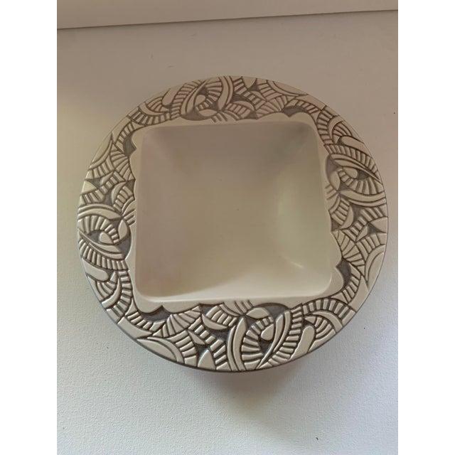 1957 Herb Cohen for Hyalyn Porcelain Bowl For Sale In Charlotte - Image 6 of 6