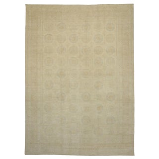 New Contemporary Transitional Khotan Area Rug - 13′ × 17′10″ For Sale