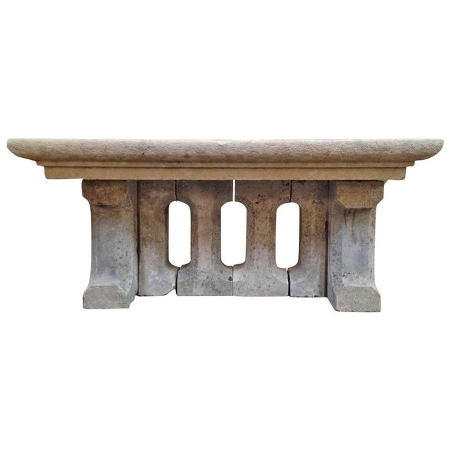 Mid 18th Century 18th Century Gothic Stone Table For Sale - Image 5 of 5
