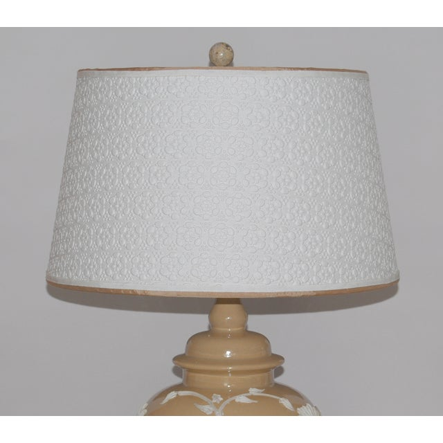 Dorothy Draper Style Lamps - Pair - Image 4 of 6