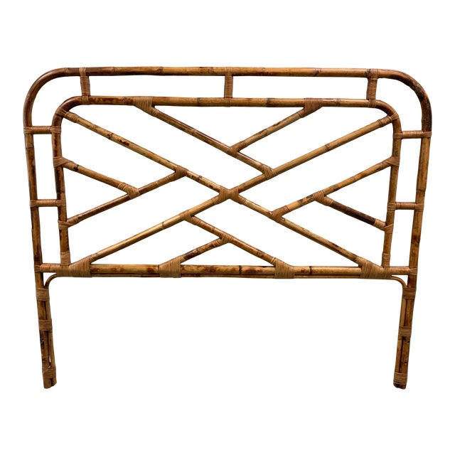 Bent Bamboo Full Size Headboard For Sale