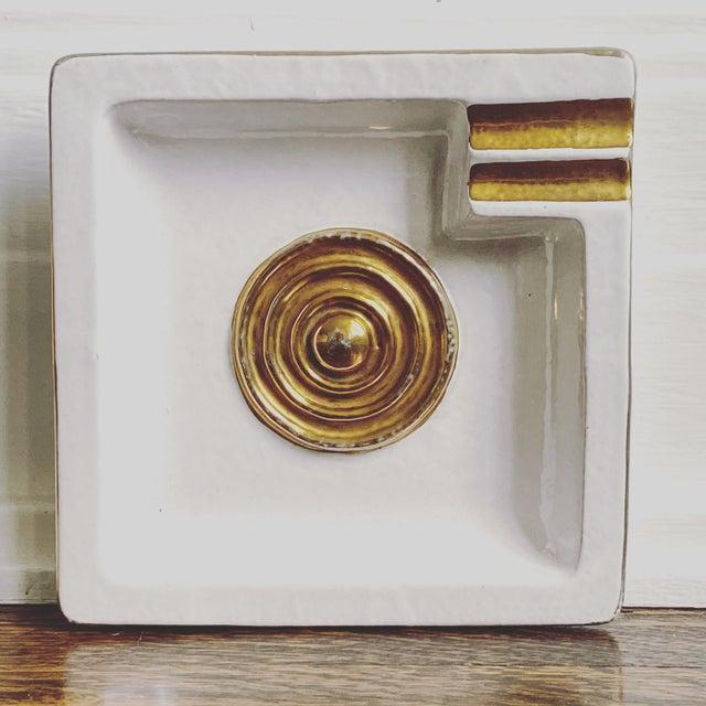 Bitossi Mid Century Modern Italian Bitossi Ashtray For Sale - Image 4 of 4