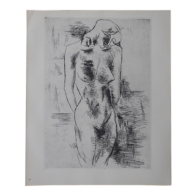 Vintage Lithograph Nude by Georges Braque - Image 1 of 3