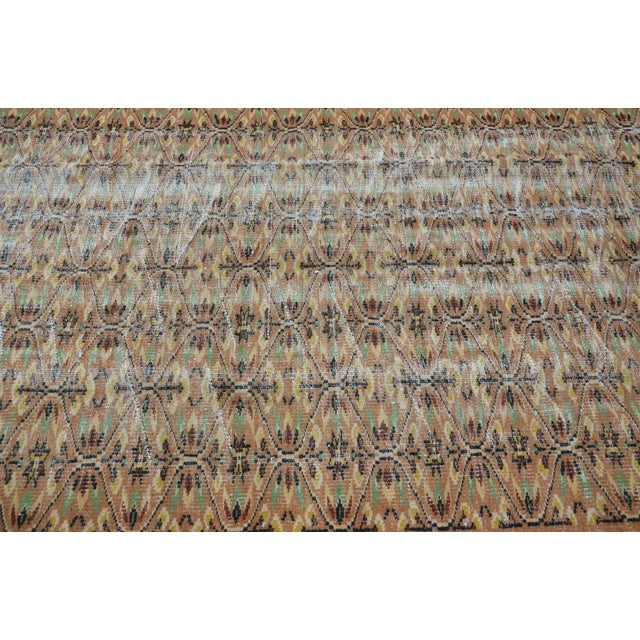Turkish Brown Rug - 4′11″ × 7′8″ For Sale - Image 5 of 6