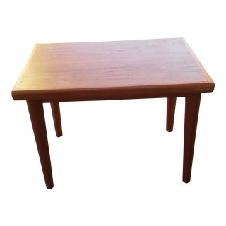 Brdr. Furbo Danish Modern Teak Side Table For Sale