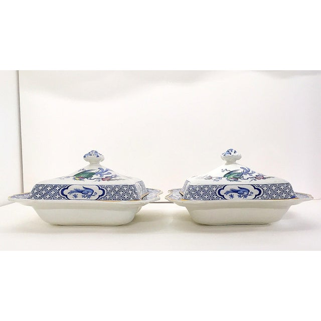 1890s Lawleys Covered Tureens - A Pair For Sale In Austin - Image 6 of 11