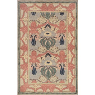 Mansour Fine Handmade Arts&Crafts Rug For Sale