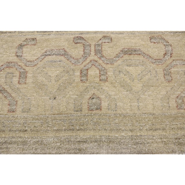 Transitional Khotan Style Area Rug - 8'9 X 12'2 For Sale - Image 4 of 10