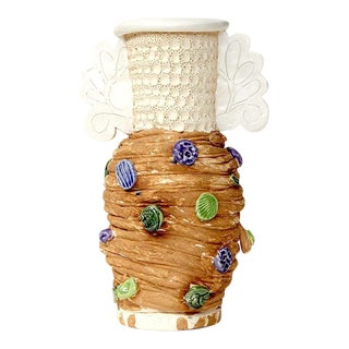 Glenn Barkley, Singtome Pot With Fancy Handles, 2017 For Sale