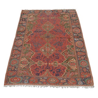 17th Century Anatolian Ushak Carpet For Sale
