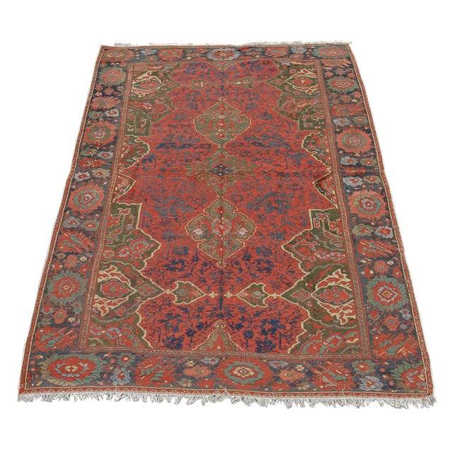 17th Century Anatolian Ushak Carpet For Sale