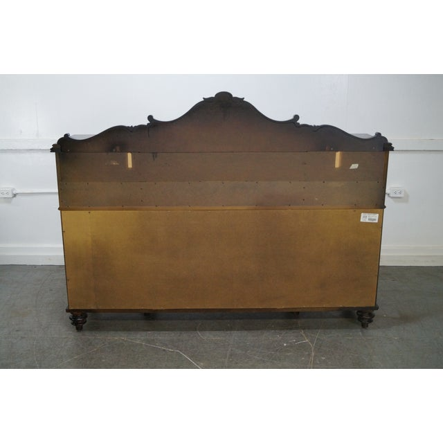 Stanley Furniture Stanley Classical Style Mahogany Sideboard For Sale - Image 4 of 10