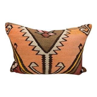 Turkish Rug Lumbar Pillow For Sale