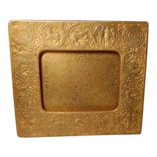20th Century Art Nouveau Tiffany Studios Zodiac Picture Frame For Sale