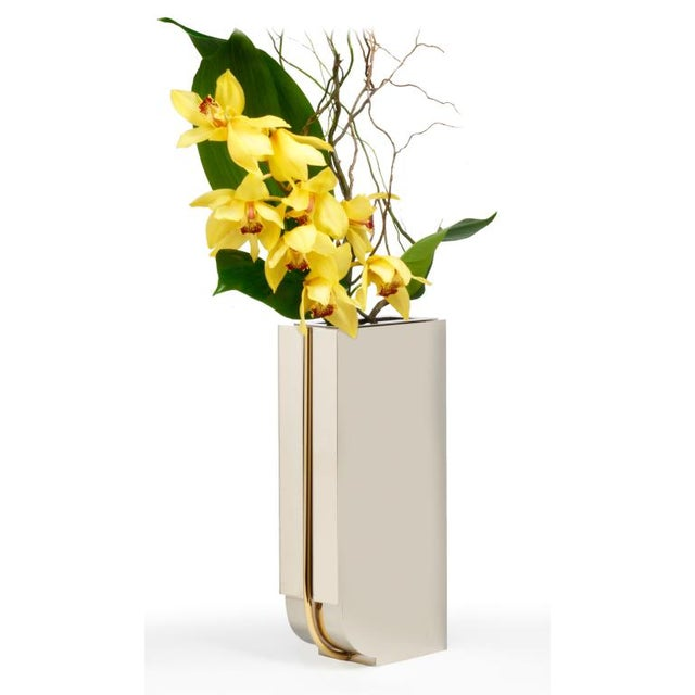 Incredible Montagnani For Lorin Marsh Deco Column Vase Decaso