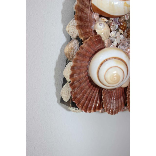 Seashell Encrusted Mirror by Snob Galeries For Sale - Image 10 of 13