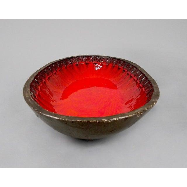 Jan Ryheul Mid Century Belgian Ceramic Platter - Image 7 of 8