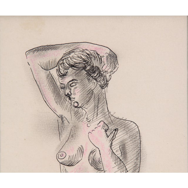 Nude Sketch - Image 3 of 5