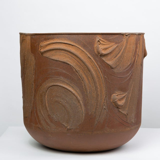 """1960s Pro/Artisan """"Expressive"""" Planter by David Cressey for Architectural Pottery For Sale - Image 5 of 9"""