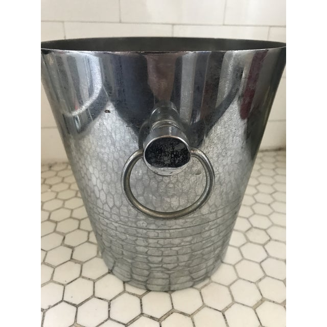 Vintage French Art Deco Andre Leroy Champagne Bucket For Sale - Image 11 of 12