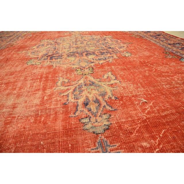 Faded Anatolian Turkish Rug - 8′8″ × 12′11″ - Image 7 of 11