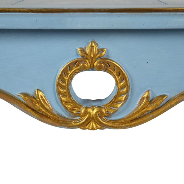 French-Style Side Tables - Pair - Image 3 of 4
