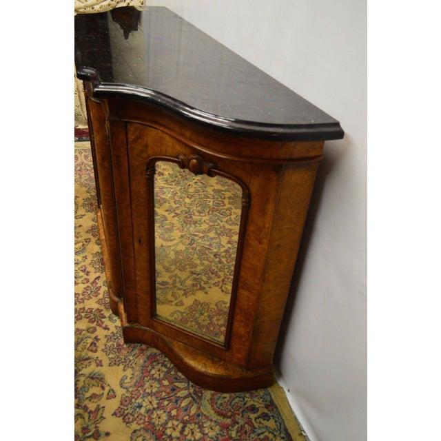 Antique 1800's Burl Walnut Mirrored Sideboard For Sale In Philadelphia - Image 6 of 11