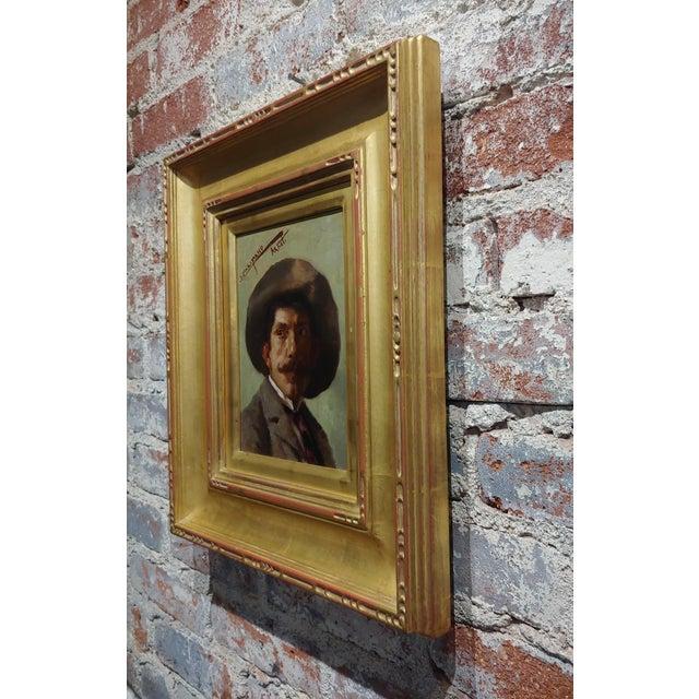 1910s John Califano -Artist Self Portrait -California Impressionist -Oil Painting For Sale - Image 5 of 7