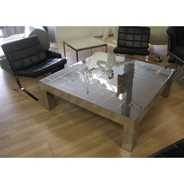 Mid-Century Modern Paul Evans Cityscape Coffee Table For Sale - Image 3 of 13