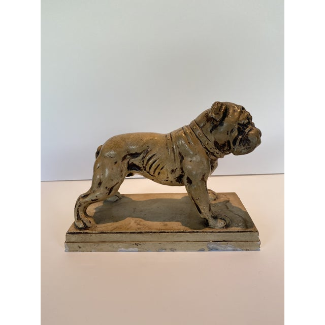 Ceramic Bulldog Statue or Bookend Made in Japan For Sale In Los Angeles - Image 6 of 6