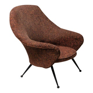 """Martingala"" Lounge Chair by Marco Zanuso for Arflex For Sale"
