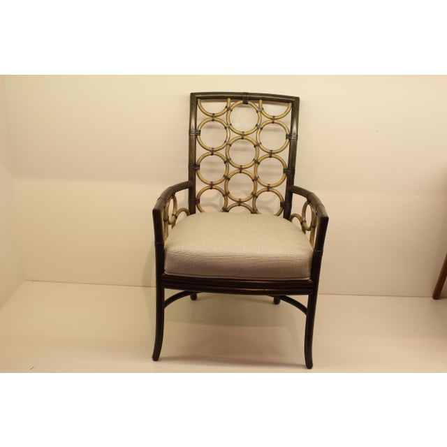 McGuire Laura Kirar Ring Arm Chair - Image 2 of 6