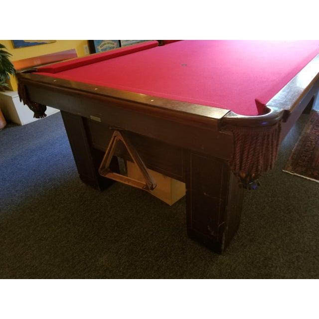 Brunswick The Madison Pool Table Chairish - Brunswick madison pool table