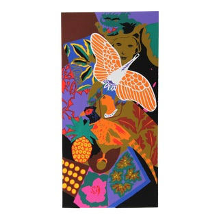 Hunt Slonem Serigraph - Kite For Sale